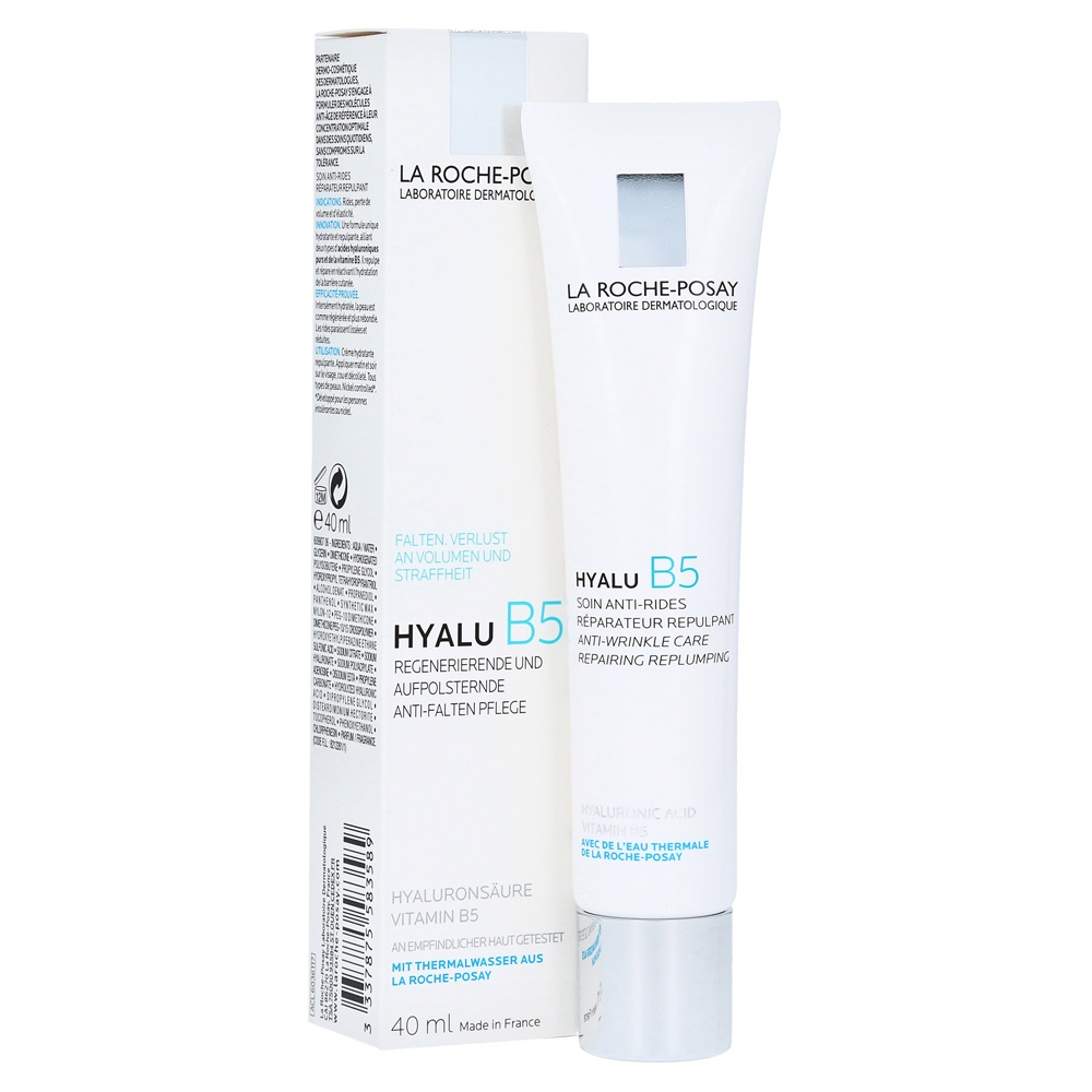 MOISTURIZING FACE, NECK AND DECOLTE CREAM LA ROCHE-POSAY HYALU B5 ANTI-WRINKLE CARE