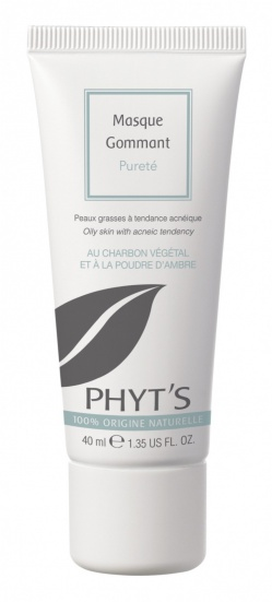 PHYTS Mask Purifying exfoliating MASQUE GOMMANT PURETE