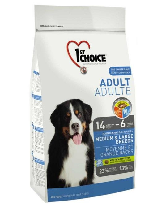 1st Choice Chicken Formula MEDIUM and LARGE BREEDS for SENIORS